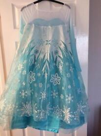 Disney Original Frozen Elsa Dress Age 11-12