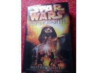 Revenge of the Sith hard back novel