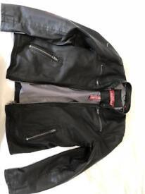 Men's leather Super Dry Jacket