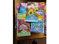 flower seeds selection