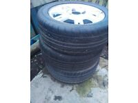 Ford fiesta car wheels / tyres / alloys