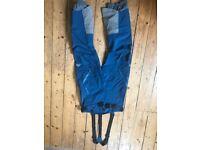 Mountain Equipment Diamir bib pants. Men's L, Blue