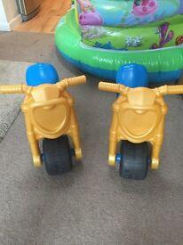 Plastic bikes