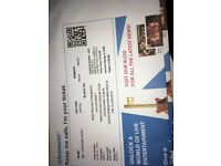 2 seated tickets to Taylor Swift in Dublin on Friday 15th June
