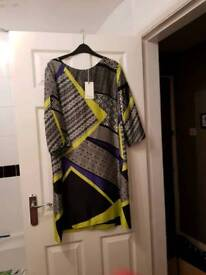 Linea Tunic Dress new with tags Size 18
