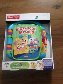 baby story book rhymes (fisher-price)