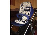 Mamas & Papas Sola blue pushchair