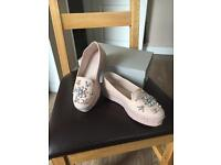 Caravel - Lolly nude leather flats