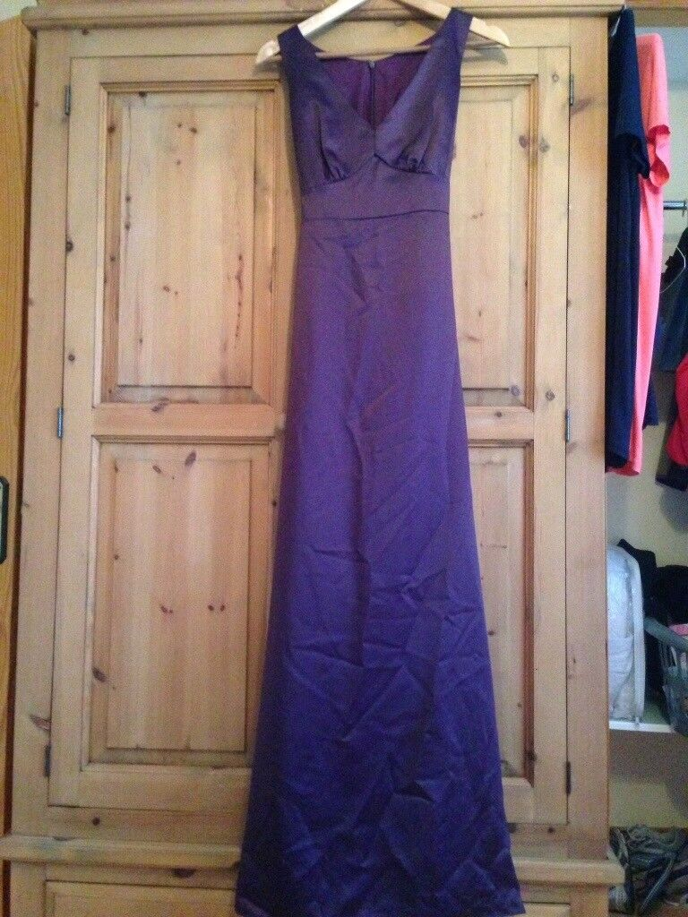 Dessy bridesmaids dresses, both worn once.Shoes to match blue dress ...