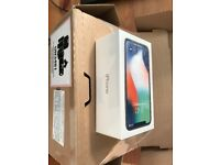brand new sealed iphone x space grey or silver 64 gb from apple store with receipt