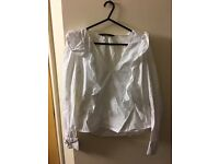Zara basic white shirt (new)