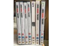 Series 1-7 The Big Bang Theory. Can sell individually