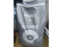 Biobizz All Mix Potting Soil 50l Hydroponics Plantation Light Mix