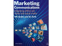 Marketing Communications Integrating offline and online with social media 2011 5th ed.PR Smith, Zook