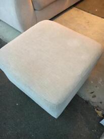 3 Seater Sofa & Footstool