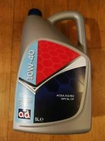 New ad 10W-40 ACEA A3/B3 Semi Synthetic oil - 5l