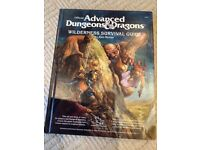 Official Advanced Dungeons & Dragons Wilderness Survival Guide