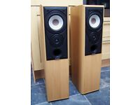 Mission 702e Floor Standing Speakers £50 Excellent condition