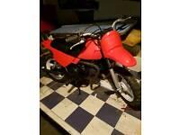 Pw50 motorbike