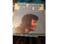 Selection of Tom Jones Vinyls