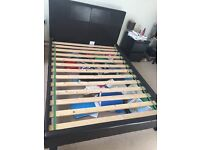 Dreams Double Bed Frame (4ft6) (Chocolate Brown) barely used!