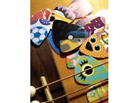 Guitar picks with a difference - Pack of 10
