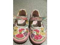 Lelli Kelly canvas shoes size 6 (23) used