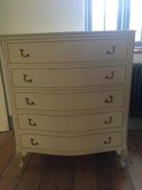 Large French style chest of drawers