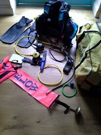 Scuba diving kit - bundle