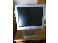 "HP Pavillion 17"" flat screen monitor"