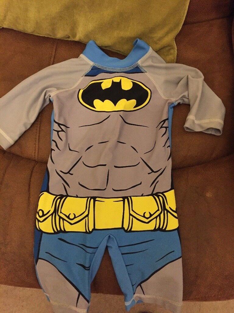 Batman swimsuit 9-12 months