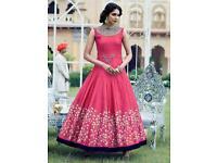 Catlouges semi stitched long dress asian Pakistani Indian