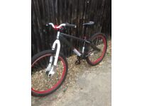 X rated jump bike,26 inch wheels with Kenda k rad 2.3 tyres,in good condition