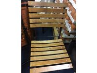 Used outdoor wooden chairs for cheap sale