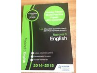 National 5 and Higher past paper exam books