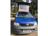 Camper Van professional conversion, re-registered with the DVLA