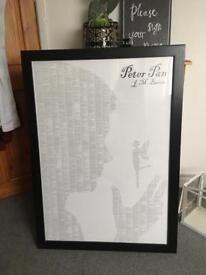 Large Peter Pan - a book on one page - Print