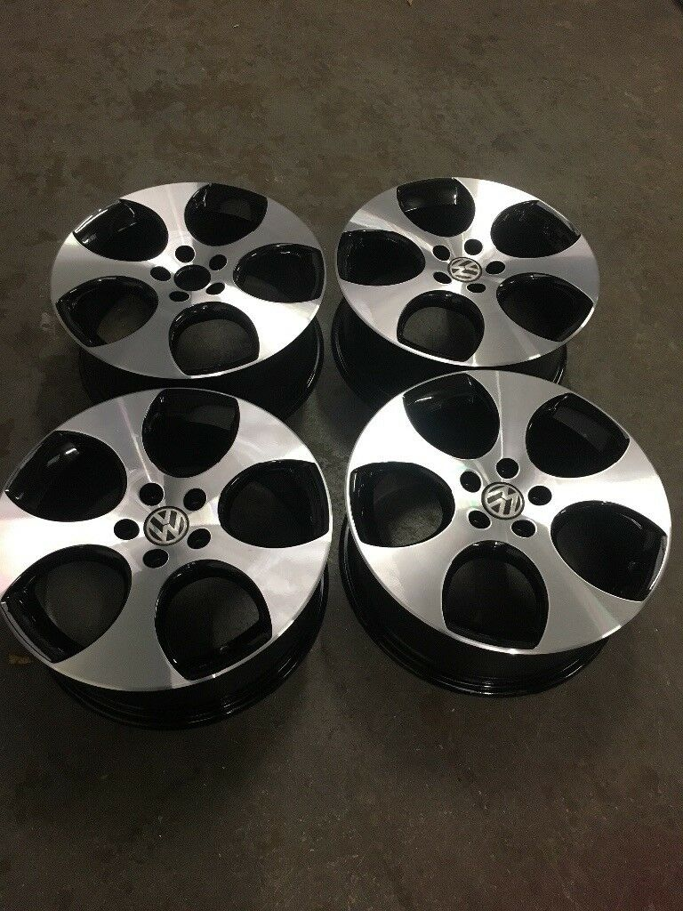 "Genuine 18"" Monza Alloy Wheels DIAMOND CUT (Brand New Tyres Available)"