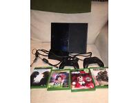 XBox ONE bundle. 4 games, 2 controls: £180