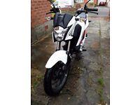 Honda 125 CBF Motorbike