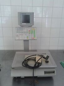 metler weigh and label machine