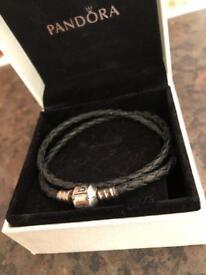 Pandora double woven bracelet
