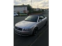 Audi A4 convertible automatic and triptronic 3litre V6 with brand new alloys