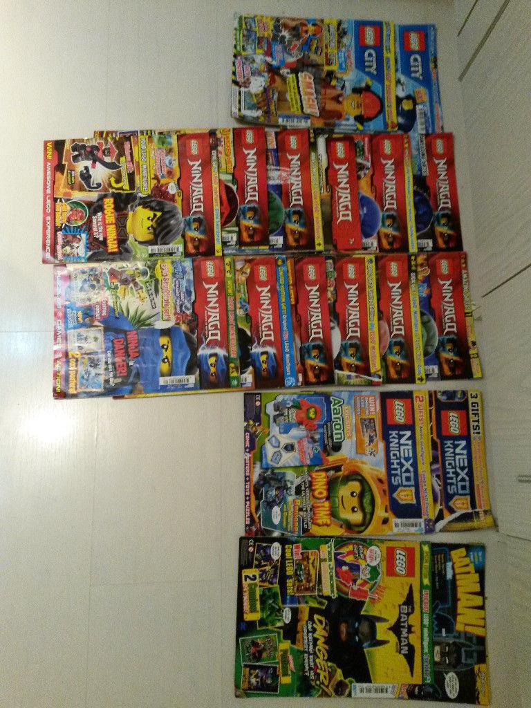 16 Magazins - Lego Ninjago, Batman, City and Nexo Knight