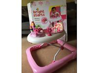 *Price Reduced* Walk - a - bout Baby Girls Walker - (hardly used)