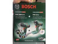 Bosch psb 1800 li-2 + pdr 18 li