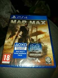 Mad Max PlayStation 4 game Brand new unopened