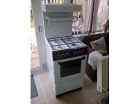 Freestanding gas single oven with upper grill. Brand Valor