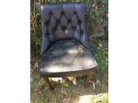 Antique chair dining room chair project for upholstery