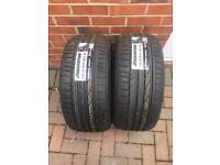 "2 x 19"" 225/35R19 888Y BRIDGESTONE POTENZA RE050A RFT RSC RUNFLAT Tyres BRAND NEW"